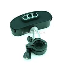 Outdoor Waterproof Bike Biking Bluetooth Speaker LED Light Bicycle Bell TF FM MIC Handsfree For Smartphone Mobile Phone