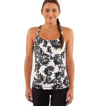 Women yogaes Vest Fashion Sport Tank Tops Tees gym Sportswear With Bra size XXS-XL(China (Mainland))