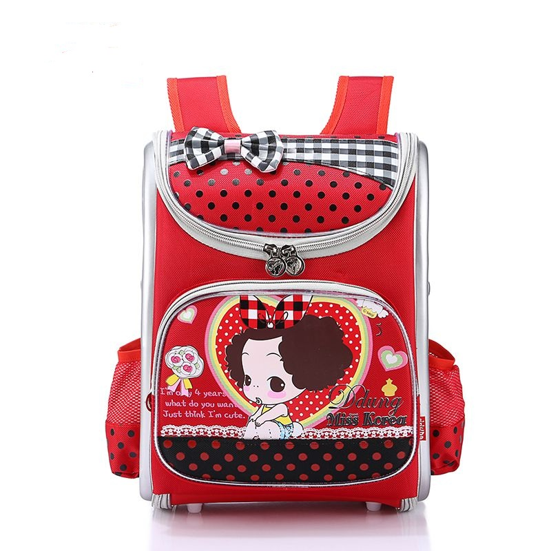 High quality new children 6-12 year Large capacity girl school bag students child lovely travel backpack kids Stationery bags(China (Mainland))