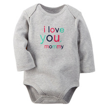 1pcs Rose Red Long Sleeve Baby Girl Bodysuit Jumpsuit Newborn Infant Children Kid Summer New Born Wear Baby Body Girl Clothes(China (Mainland))