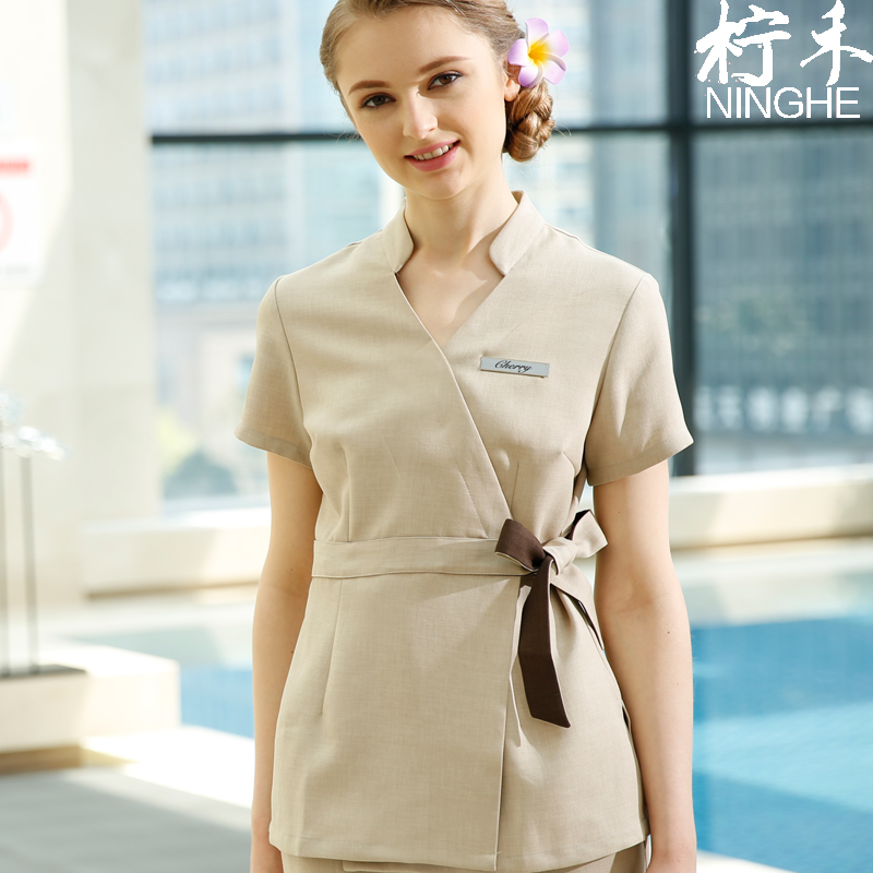 Online buy wholesale nursing uniform sets from china for Spa uniform indonesia