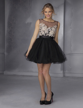 Buy Unique Best-Selling Free Short Cocktail Party Dress Appliques Beads Scalloped Organza Mini Ball Gown Cocktail Dresses for $90.00 in AliExpress store