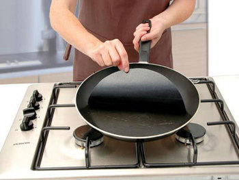 Twin pack Pan Mat, 2 Non-stick round pan liner sheet