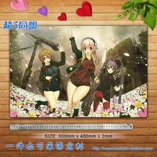 Super Sonico Animation Anime Characters (Group Photo 2B) Large Custom Mouse Pad Desk & Table Play Mat Gaming - Dokamic Store store