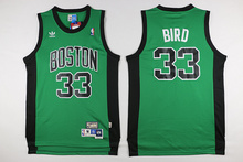Top A Best quality .Boston Celticed,Paul Pierce,Kevin Garnett,Ray Allen,Larry Bird,Isaiah Thomas,Marcus Smart,Rajon Rondo(China (Mainland))