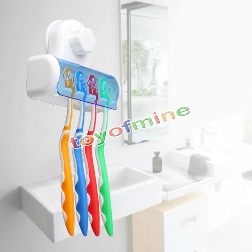 Toothbrush Spinbrush Suction Holder Wall Mount Stand Rack Home Bathroom(China (Mainland))