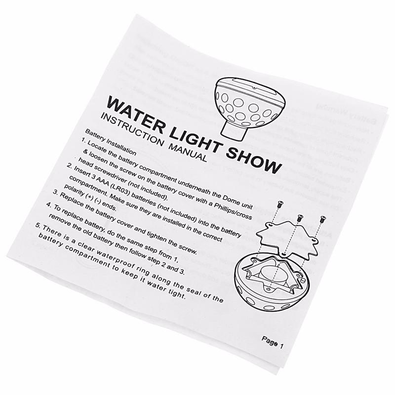 LED Pool Light 06