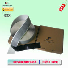 Waterproof single sided Butyl Mastic Tape with non-woven for Building 1.5mm*50mm*10m(China (Mainland))