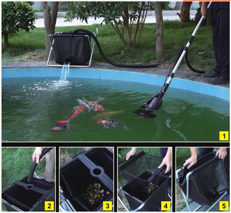 Popular pond vacuum buy cheap pond vacuum lots from china for Koi pond swimming pool