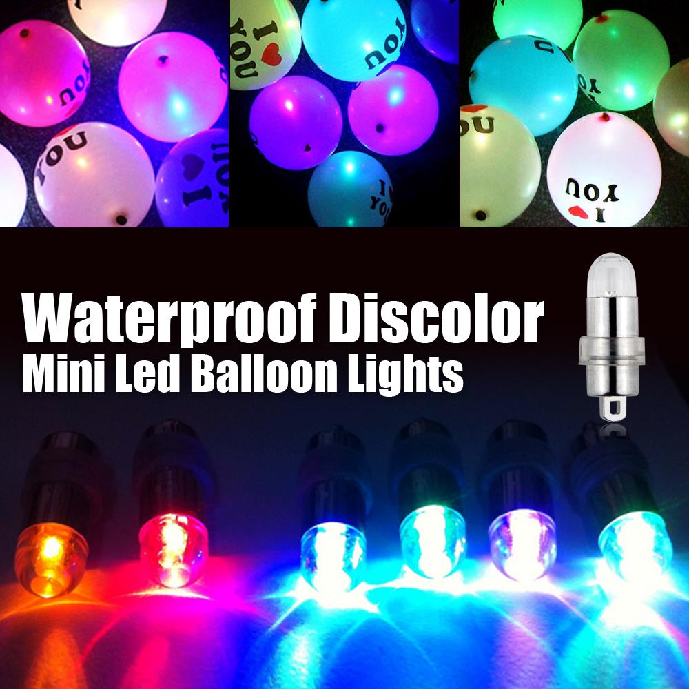 6pcs lot wholesale mini led balloon light rgb color. Black Bedroom Furniture Sets. Home Design Ideas