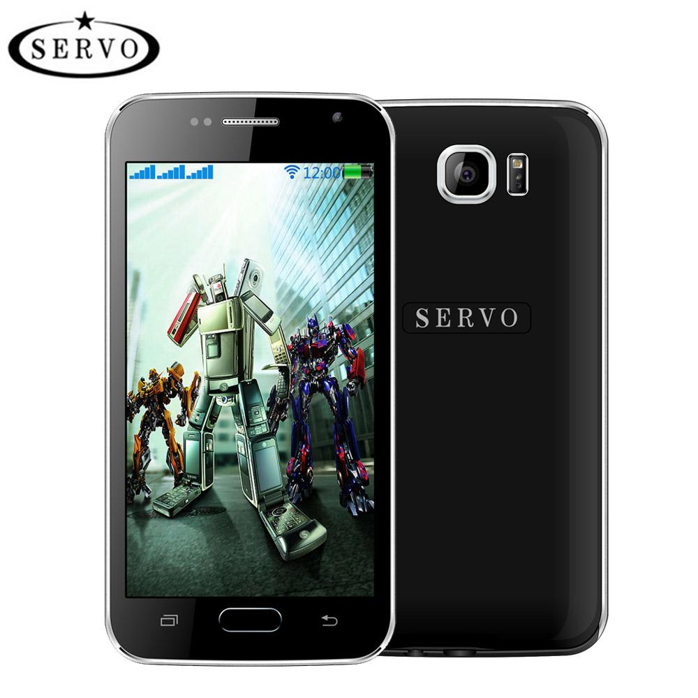 "Original SERVO S6 Three SIM Card 4.6"" Quad Band Mobile phone GSM WIFI Bluetooth Support multi-language Unlocked celular(China (Mainland))"