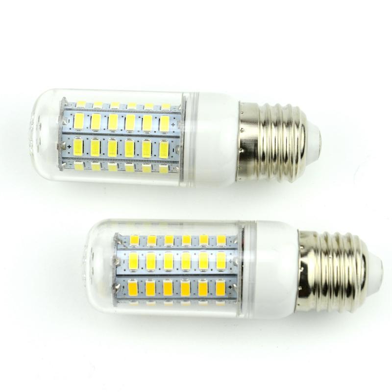 1Pcs E27 E14 LED Corn Bulb 220V 110V SMD5730 LED lamp Spotlight 24LED 36LEDs,48LEDs,56LEDs,69LEDs For light(China (Mainland))