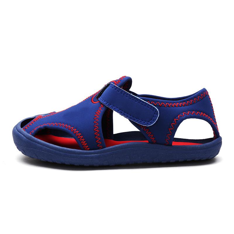 Hot Sale 2016 Summer Children beach sandals fashion shoes for girls Size 23-35 boys footwear kids non-slip sandalias(China (Mainland))