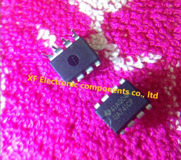 100PCS DIP8 IC UA741CN UA741CP UA741 OP Amp LM741 741 TI IC OPAMP GP 1MHZ Free Shipping(China (Mainland))