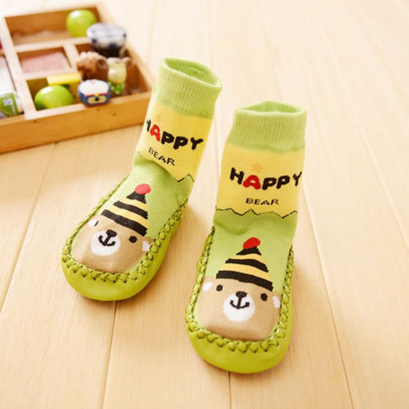 new born baby socks children socks anti slip girls boys newborn winter wear kids rubber sole socks calze neonato lowest price(China (Mainland))