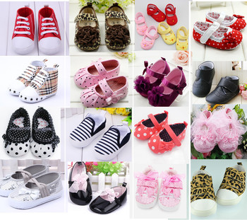 New Cute Baby Girl Boy First Walkers Toddler Shoes Boots Multi-color Dot Bow Children's Shoes Soft Sole Shoe Girls Warm