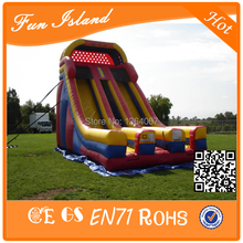Free Shipping Cheap Commercial Giant Inflatable Slide, Inflatable Jumping Slide For Sale(China (Mainland))