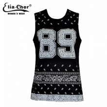 Summer Tops Women Tank Top 2016 Elia cher Brand Fitness Active Sport Letter Print Plus Size Women Top Clothing(China (Mainland))