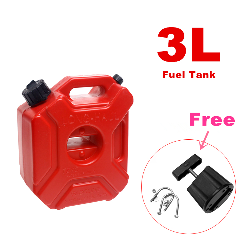 3litre Fuel Tank Jerry Cans Spare Plastic Petrol Tanks Atv Jerrycan Mount Motorcycle Gas Can Gasoline Oil Container Fuel-jugs