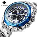 Mens Big Watch Brand Luxury Steel Band Clock Army Military Sports Men Watches relogio masculino