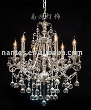 solid brass & silver plated high quality  chandelier wholesale & retail