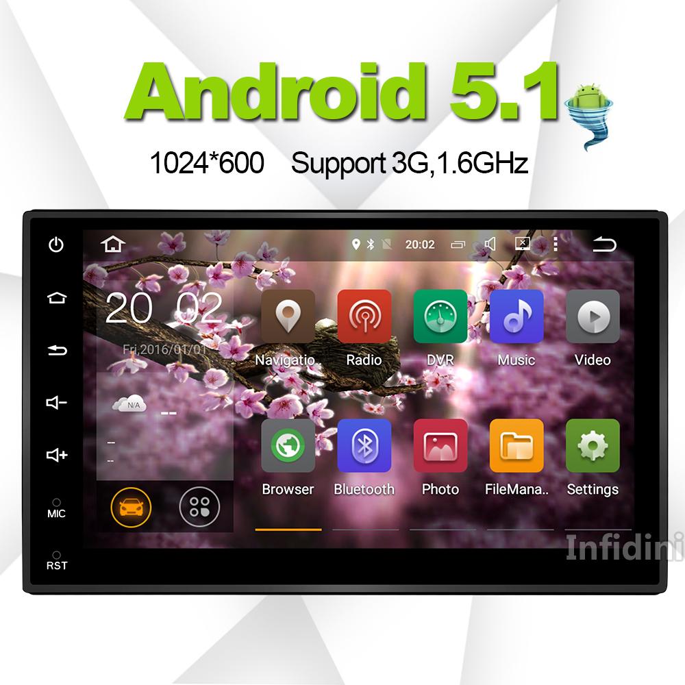 Android 5.1 car dvd player gps navigation universal car gps raido video player 2 din in dash for nissan xtrail x-trail Qashqai(China (Mainland))