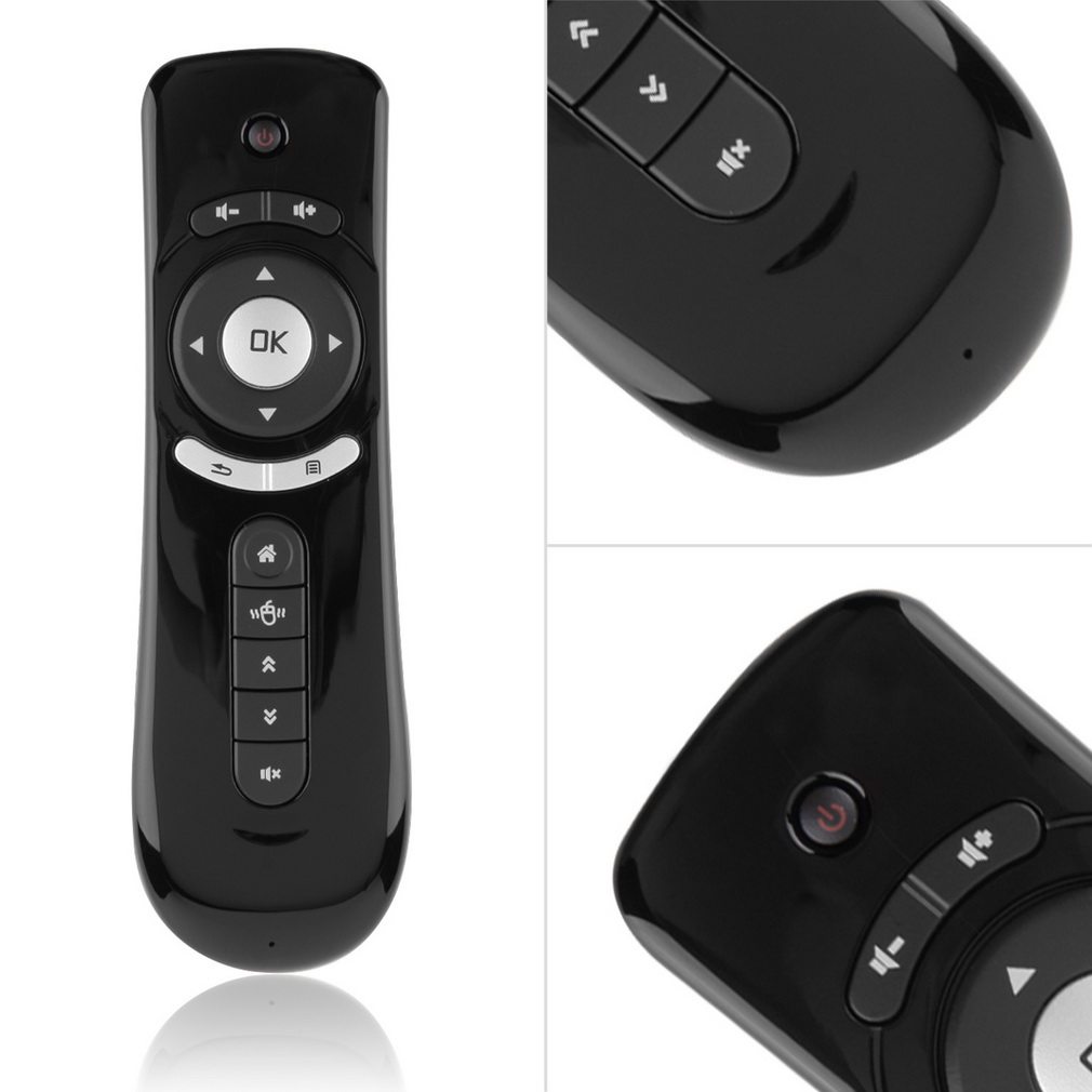 2016 New 2.4GHz Mini Wireless Gyroscope Fly Air Mouse T1 Android Remote Control Brand New(China (Mainland))