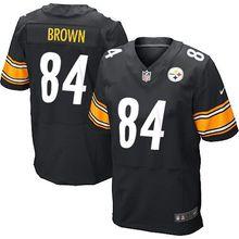 2016 men Pittsburgh Steelers, #84 Antonio Brown #7 Ben Roethlisberger #25 Bruns Elite 100% stitched logo #26 LeVeon Bell(China (Mainland))