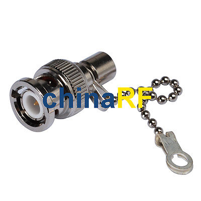 BNC male Resistor RF Coaxial Termination Impedance 50 Ohm with Clain NEW(China (Mainland))