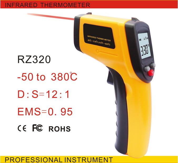 Infrared thermometer GM320 non contact Digital infrared thermometer with laser -50~380C -58~716F degree