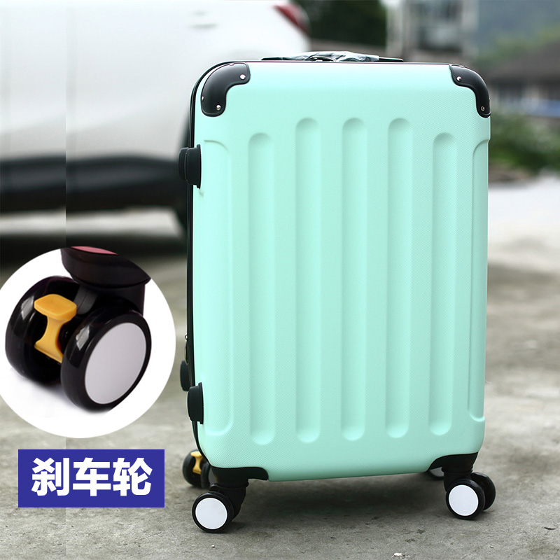 Luggage,travel luggage,universal wheels trolley luggage male password box leather case pull travel bag