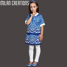 Milan Creations Children Clothing Set 2015 Brand Winter Suits for Girls Clothes Dobby Majolica Kids Clothes Girls Clothing Sets(China (Mainland))