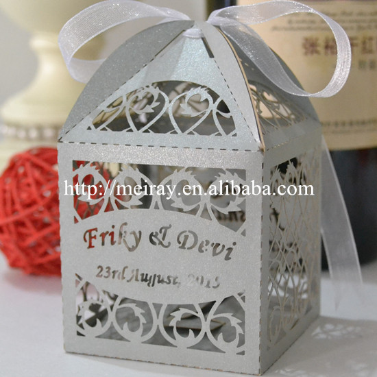 Wedding Gift Ideas In Philippines : 2016 wedding favors in the philippines laser cut favour boxes wedding ...