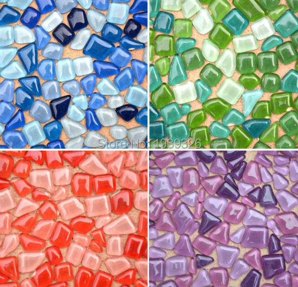 Online buy wholesale mosaic tiles glass glitter from china for Craft mosaic tiles bulk