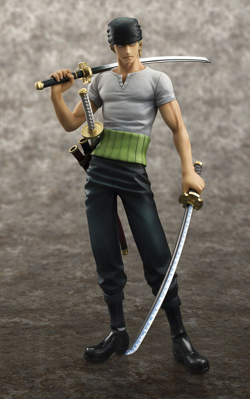 Anime One Piece POP Roronoa Zoro 10th Anniversary PVC Action Figure Model Collection Toy 21cm Brinquedos(China (Mainland))