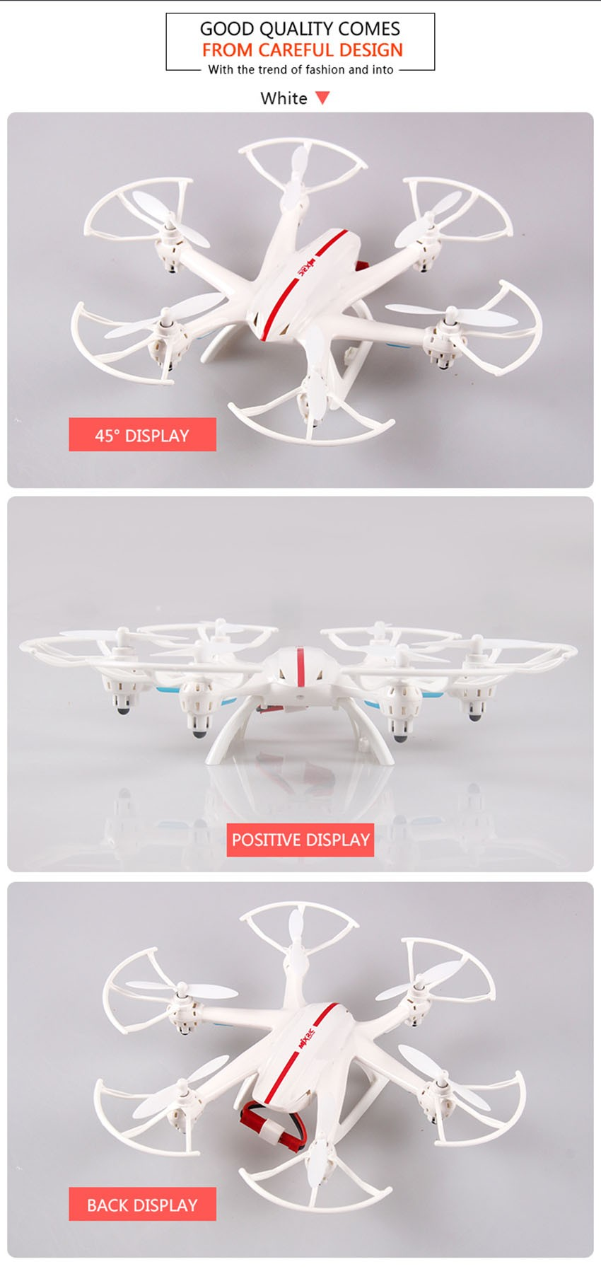 2.4G 4CH 6-Axis MJX X800 rc drone quadcopter helicopter with C4005 HD FPV WIFI flying Real Time camera VS Syma X400 x5c x5sw sc