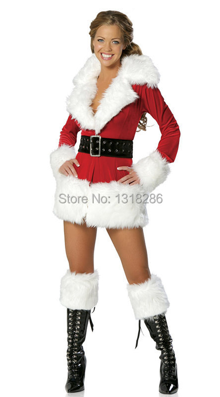 2014 New Western Sexy Christmas Long Sleeve Plush Warm
