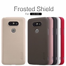 Buy NILLKIN Super Frosted Shield hard back cover case LG G5 case cover free screen protector retail package for $7.19 in AliExpress store