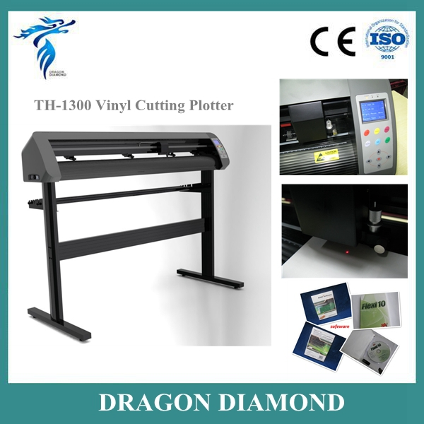 High Quality!! Vinyl Cutting Plotter TH-1300L With Contour Cutting /Guangzhou Vinyl Cutter Plotter For Sale(China (Mainland))