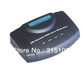 Free Shipping USB Network Storage Nas FTP Samba Print Server BT DLNA DDNS Download Client
