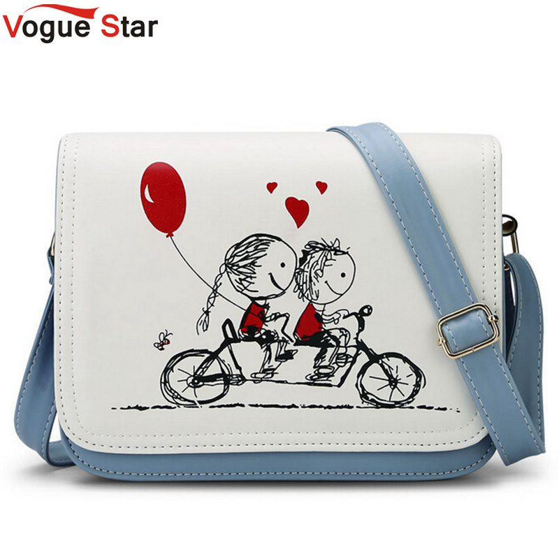 Vogue Star Summers Cartoon Candy Color Women Bag School Bicycle Girls Shoulder Bags Cute Small crossbody Messenger Bags LS502(China (Mainland))