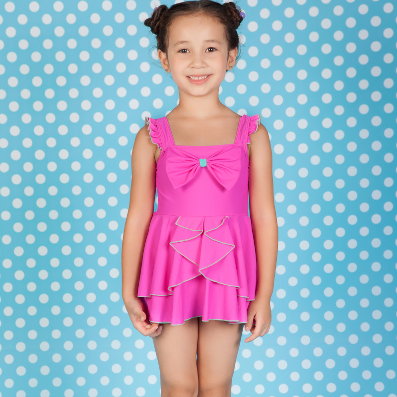 2016 new design girl childrens swimwear cute & beautiful ...