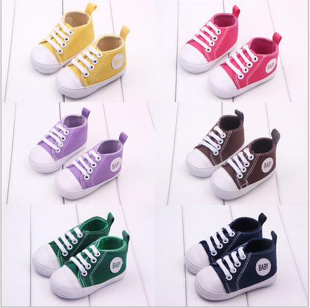 2015 New Baby Boy Girl Shoes Infants Toddlers Casual Newborn Soft Bottom First Walkers Boots - Mom, i can walk store