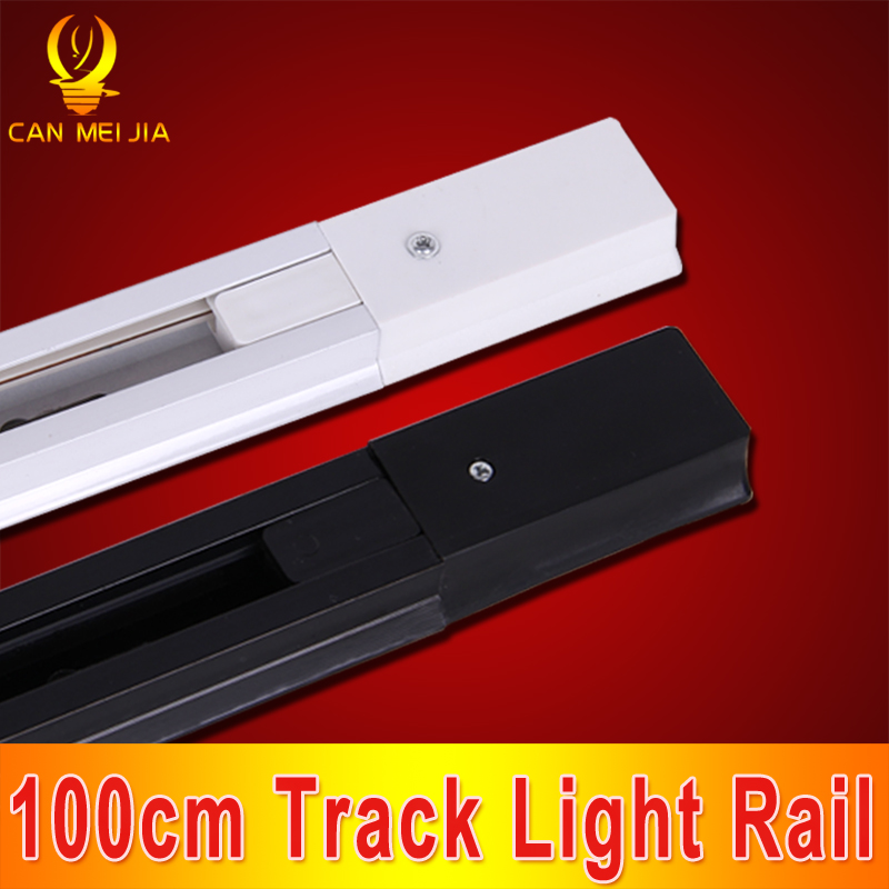 20pcs/lot 100cm LED Track Light Rail Line Metal Halide Slide Rail And Connector<br><br>Aliexpress