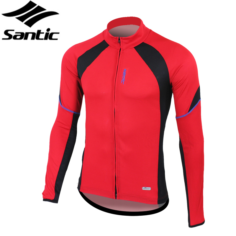SANTIC Anti-sweat Summer Outdoor Sportswear Bike Jersey Cycling Clohing Bicycle Long Sleeves Jersey Jacket -Rhythm, 2 Colors<br><br>Aliexpress