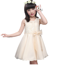 Girls summer clothes 2016 new girls sleeveless princess dress children sweet style party dress 12 years kids fashionable dresses