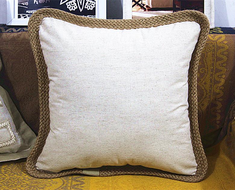 Quirky Throw Pillows : NEW 2015 high quality linen cushion cover pillow cover sofa decorative throw pillows home decor ...