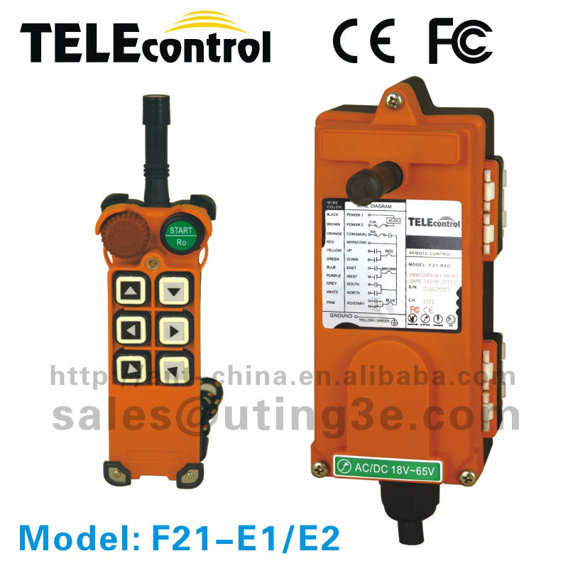 F21 Series F21-E1 HOT SALE industrial remote controller for china manufacturing supply(China (Mainland))