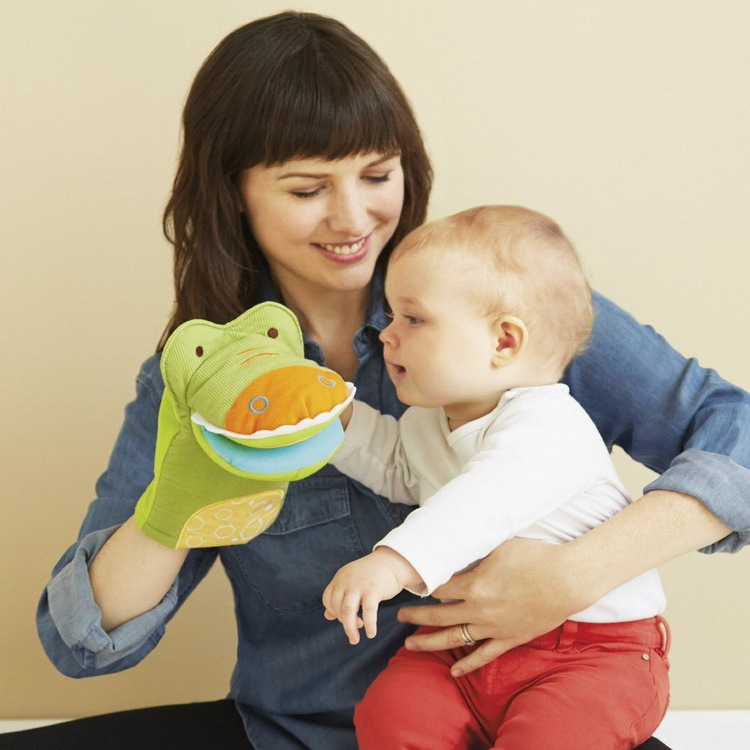 Гаджет  Development and Education Baby Infant Toys Giraffe Safari Mirror Puppet Toy Crocodile/Giraffe animal rattle free shipping None Игрушки и Хобби