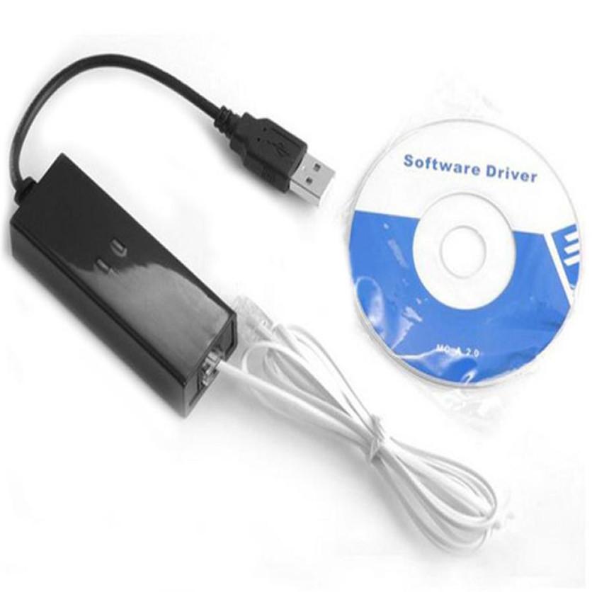 Factory price New USB 56K V.90 V.92 External Dial Up Voice Fax Data Modem for Win XP VISTA 7 8 Linux 51126(China (Mainland))